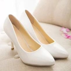 HOONA - Pointy-Toe High-Heel Pumps