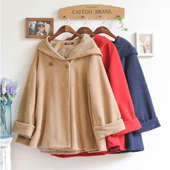Snow Goose - Hooded Cape Coat