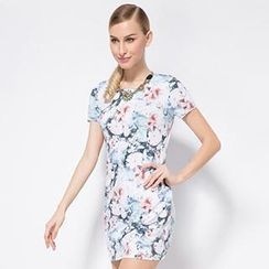 O.SA - Floral Sheath Dress