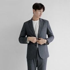 Seoul Homme - Single-Breasted Blazer
