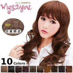 Wigs2You - Long Full Wig -  Wavy
