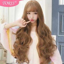 Toris - 空氣劉海大波浪長卷假髮
