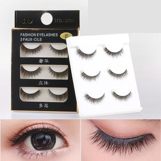 Mogugu - Set of 3: False Eyelashes