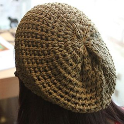 Hats 'n' Tales - Knit Colored Beret