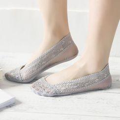 LA SHOP - Lace No-Show Socks