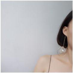 Calypso - Non-matching Petal Drop Earrings