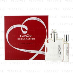 Cartier - Declaration Coffret: Eau De Toilette Spray 50ml/1.6oz + Eau De Toilette Spray 9ml/0.3oz
