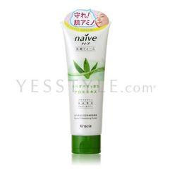 Kracie - Naive Facial Cleansing Foam  (Aloe)