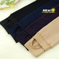 MITU - Fleece-Lined Stirrup Leggings