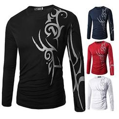 Fireon - Print Long-Sleeve T-Shirt