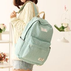 Canvas Love - Floral Canvas Backpack