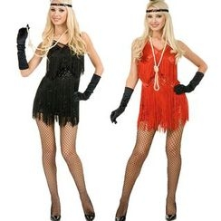 Gembeads - Fringed Latin Dancer Party Costume