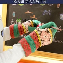 Lazy Corner - Patterned Gloves