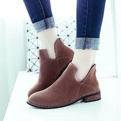 Chryse - 仿麂皮及踝靴