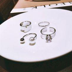 Ticoo - Set of 4: Ring