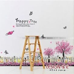LESIGN - Fence Wall Sticker