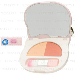 Sanrio - Race Hello Kitty Refreshing Pinky Cheek (#02 Orange)