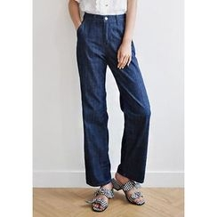 GOROKE - Straight-Legged Jeans