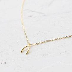 Love Generation - Wishbone Pendant Necklace