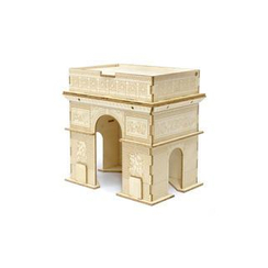 Team Green - Plywood Puzzle - Arc de Triomphe