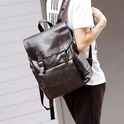 BagBuzz - 人造皮飾扣背包