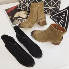Super ME - Genuine-Leather Ankle Boots