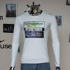 VILUNI - Print Long-Sleeve T-shirt
