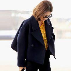 OTTI - Plain Knit Coat