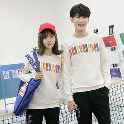 Je T'aime - Couple Matching Print Sweatshirt