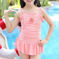 UniFIN - Kids Plain Swimdress