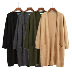 ALIN STYLE - Oversized Long Cardigan
