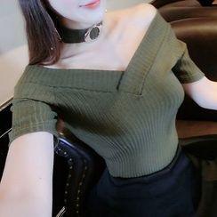 Baliz - V-neck Short-Sleeve T-shirt