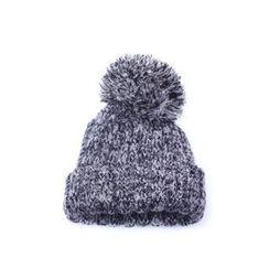 Ohkkage - Pompom-Accent Knit Beanie
