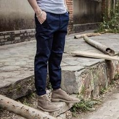 YIDESIMPLE - Slim-Fit Pants