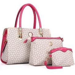 Auree - Patterned Shoulder Bag Set