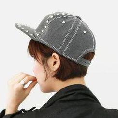 Hats 'n' Tales - Studded Baseball Cap