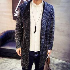 maxhomme - Melange Knit Jacket