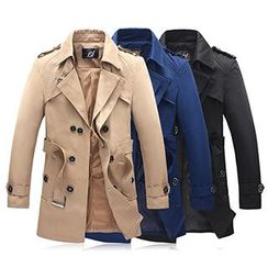 Riverland - Trench Coat with Belt