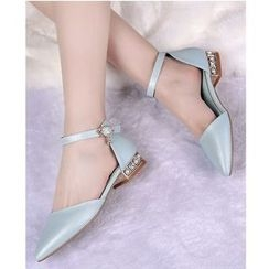 Freesia - Ankle Strap Pointed Toe Sandals