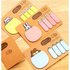School Time - Animal Sticky Note