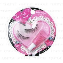 Koji - Spring Heart Eyelash (#08 Impact Long)