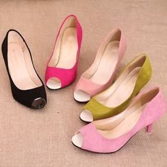 IYATO - Kitten-Heel Pumps
