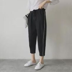 Tiny Times - Cropped Harem Pants