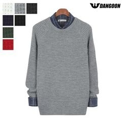 DANGOON - Raglan-Sleeve Waffle-Knit Sweater
