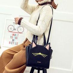 Pandabada - Embroidery Cat Tote