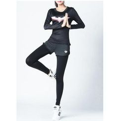 ORCA - Sports Shorts Inset Leggings