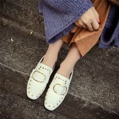 Chryse - Studded Loafers