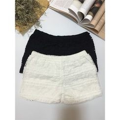 ALIN STYLE - Lace Under Shorts