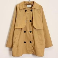 Momewear - Double-Breasted Trench Coat