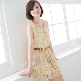 CatWorld - Cat-Print Sleeveless Dress
